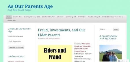 as our parents age blog