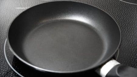 small lightweight frying pan