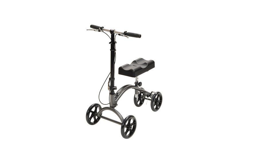 knee walker with handlebars