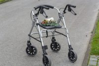 Rollators: Four Wheel Walkers with Seats for Improving Mobility