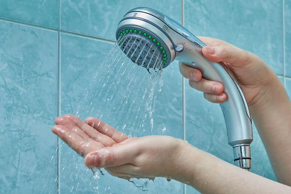 hand held shower head for the elderly