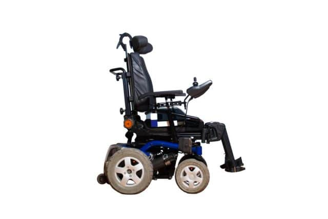 a complex power wheelchair for more advanced disabilities