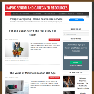 kapok senior care screnshot