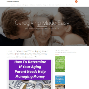 caregiving for parents made easy screenshot