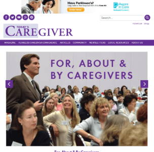 todays caregiver screenshot