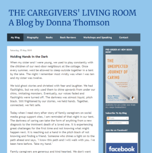 caregivers living room screenshot