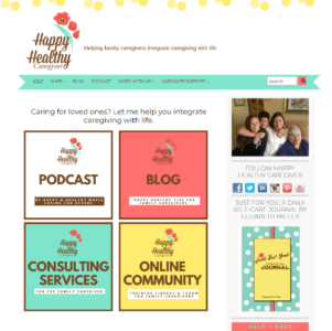 happy healthy caregiver screenshot