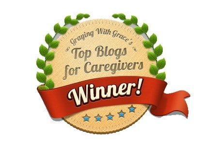 top blogs for caregivers cover badge