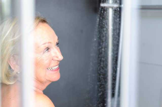 shower safety tips for the elderly