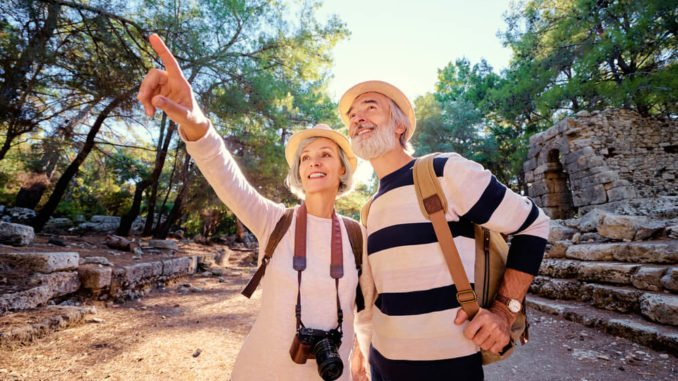 adventure vacations for seniors could include desert hikes