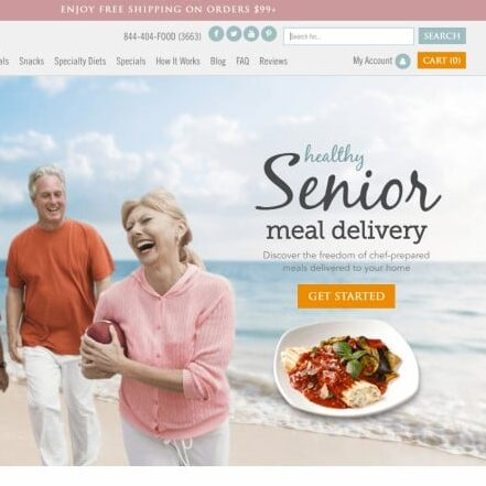 Senior Home Meal Delivery Service by Bistro MD