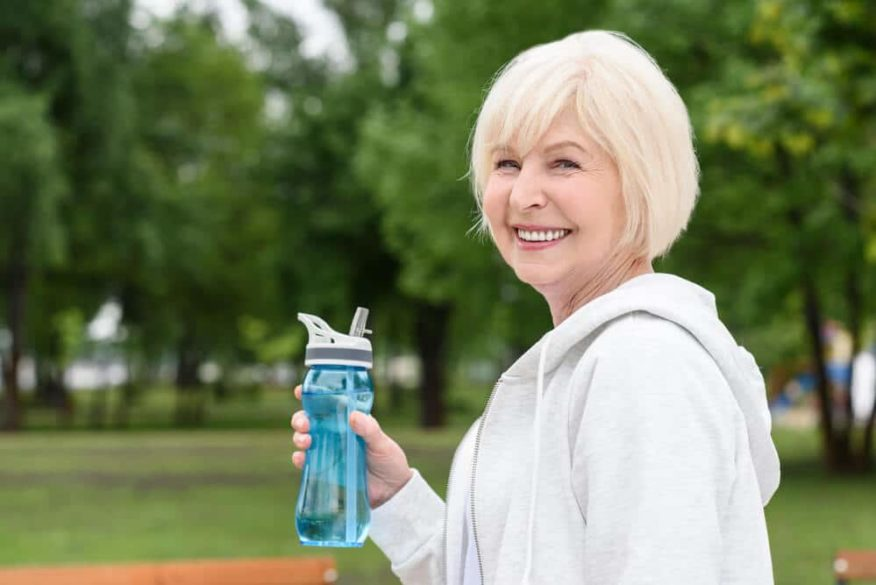 one of the important bicycle safety tips for seniors is to stay hydrated