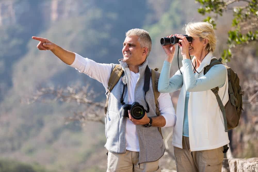 birding for seniors in winter