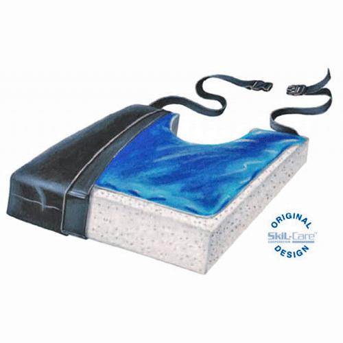 Skil-Care Gel Foam Cushion with Coccyx Cutout