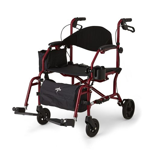 Excel Translator Transport Chair / Rollator