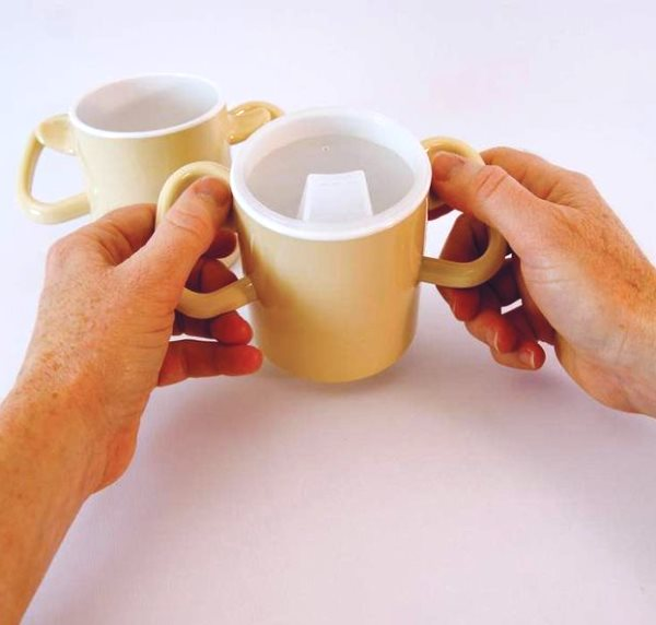 Arthritis Thumbs Up Cup with Lid
