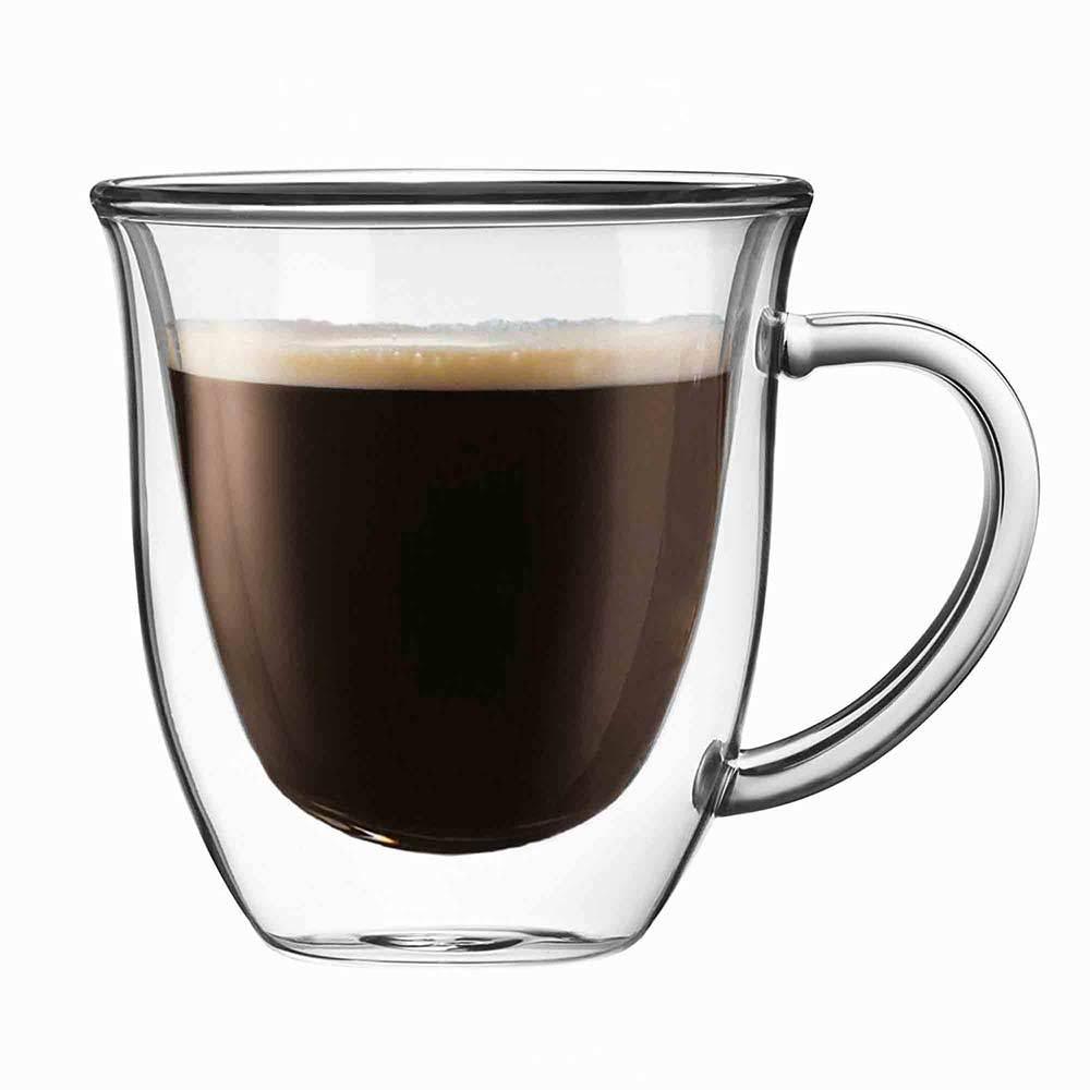 Joy Jolt Double Wall Coffee Glasses
