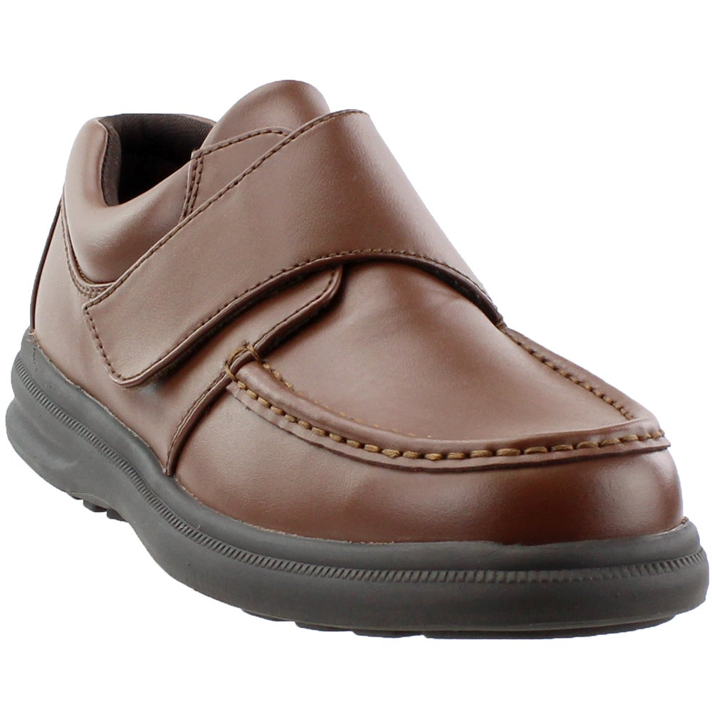 Hush Puppies Gil Shoes Brown- Mens- Size 9.5 2E