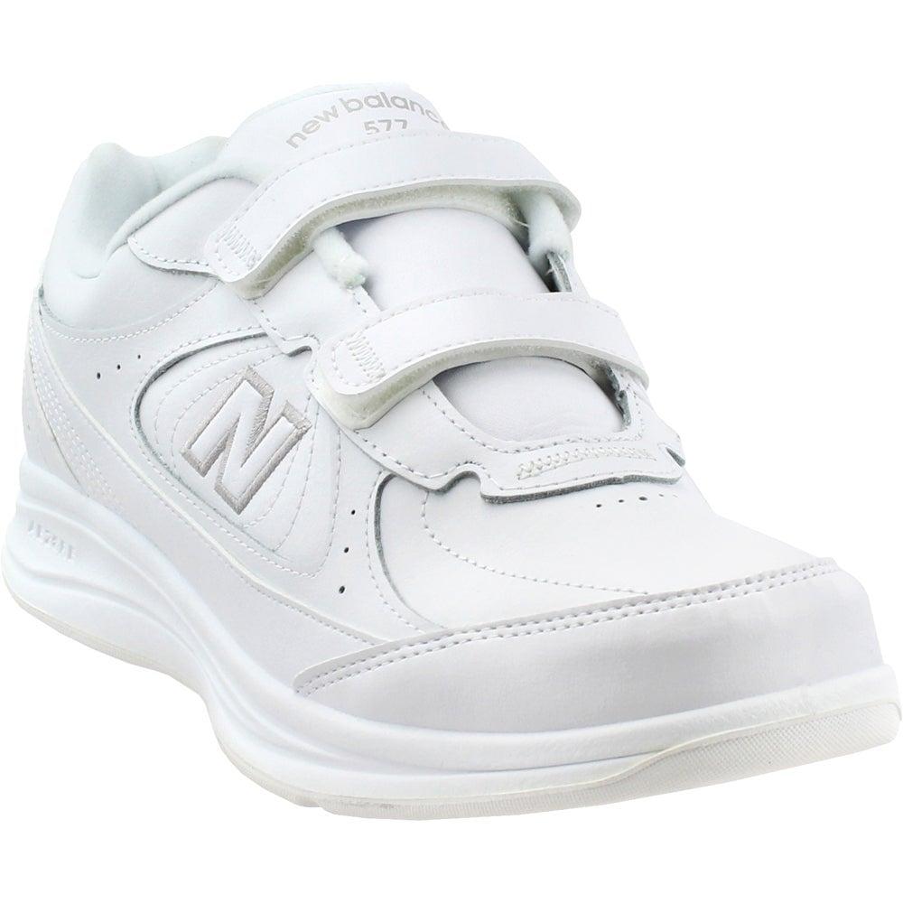 New Balance 577 Walking Shoes White- Mens- Size 8.5 4E