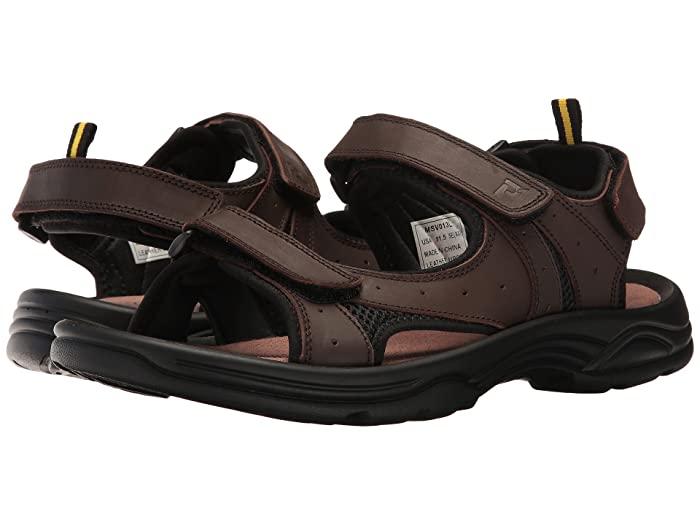 Propet Daytona (Brown) Men's Sandals