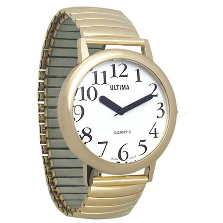 Ultima Low Vision Watch - White Dial-Unisex