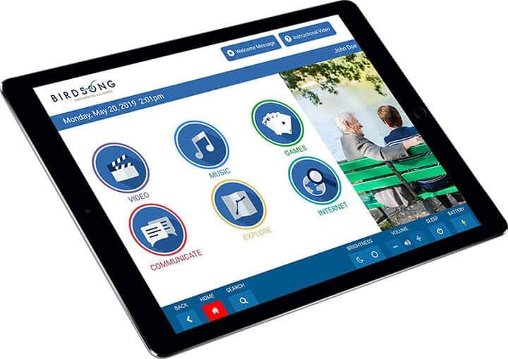 Birdsong Tablet for Seniors