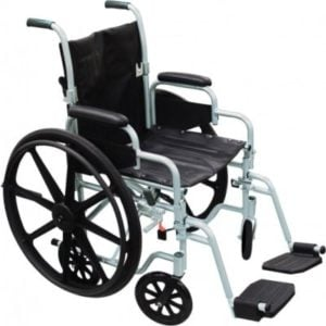 Drive Medical Poly Fly Transforming Transport Chair