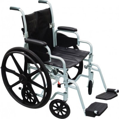 drive medical poly fly transport chair