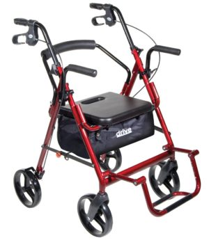 Drive Medical Duet Transport Chair Rollator