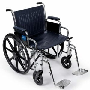 Medline Excel Extra Wide Manual Wheelchair