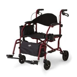 Medline Excel Translator Transport Chair Rollator