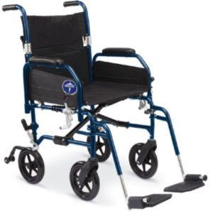 Medline Hybrid 2 Transforming Transport Chair