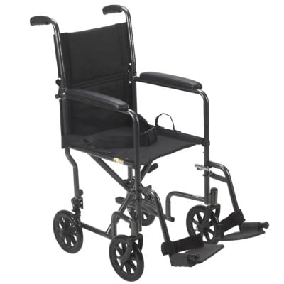 Drive Steel Transport Chair by Drive