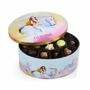Limited Edition Lady Godiva Tin of Assorted Chocolates | GODIVA