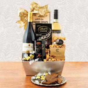 Celebrate Wine Gift Basket | WineBasket.com