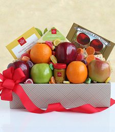 California Fruit and Cheese Box Gifts at Just Flowers