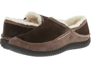 Men's Fleece-Lined Rambler Mule Moccasins