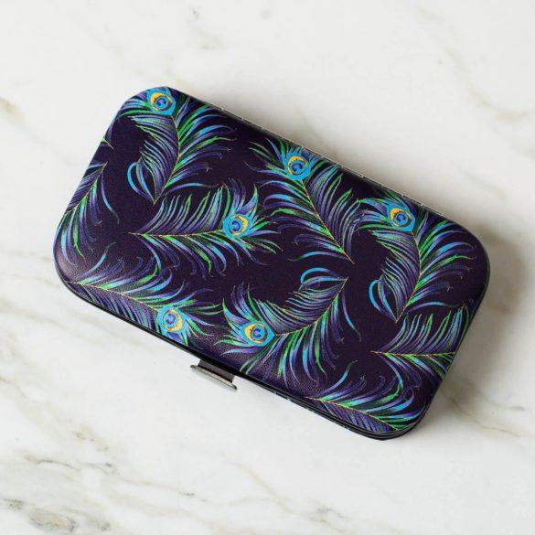 Peacock Panache Manicure Set