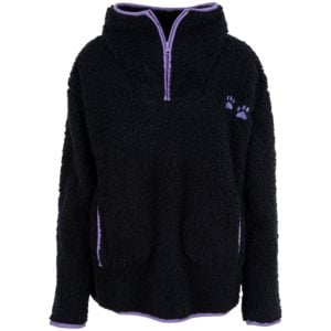 Women's Paw Print Sherpa Pullover | GreaterGood