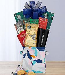 Coffee Break Gift Basket at Just Flowers