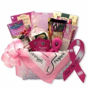 Gift Baskets Find A Cure Breast Cancer Gift Basket | GreaterGood