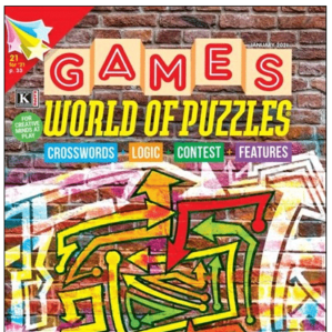 World of Puzzles & Game Book Subscription | MagazineAgent.com