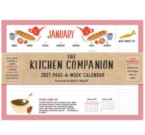 Kitchen Companion Wall Calendar
