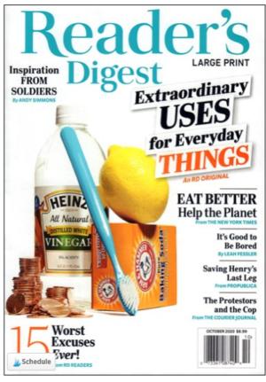 Reader's Digest – Large Print Edition