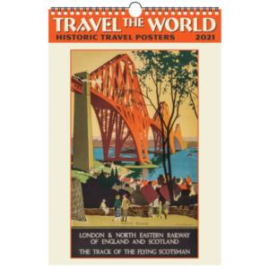 Travel the World Wall Calendar