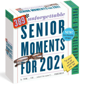 Unforgettable Senior Moments Desk Calendar
