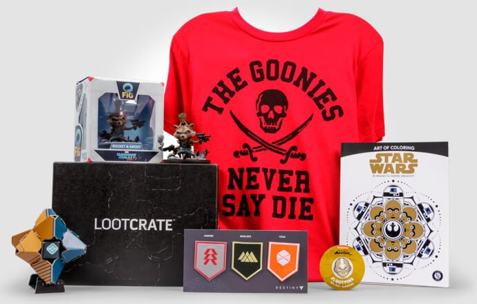 Loot Crate Subscription and Gift Boxes