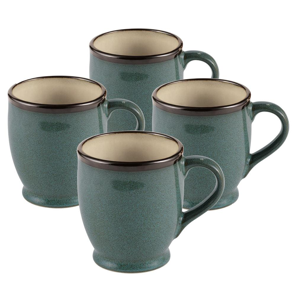 Belmont Set of 4 Blue Mugs – Mikasa