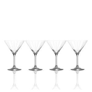 Berlin Set of 4 Martini Glasses – Mikasa