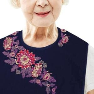 Women's Adult Bib Chrysanthemum Sash | Classy Pal